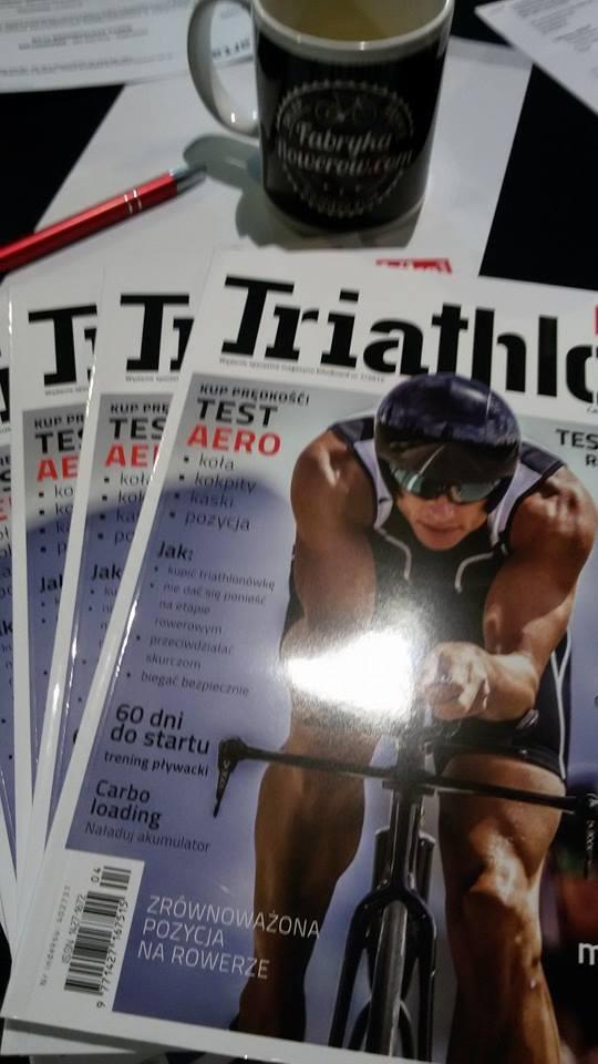 Gazeta Triathlon by BikeBoard w fabtykarowerów.com