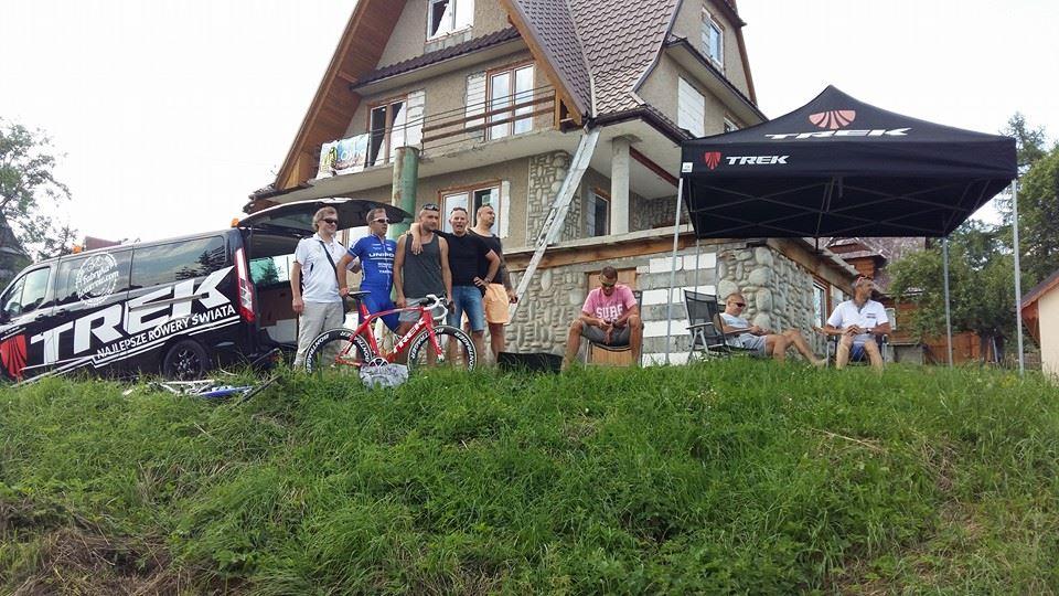 Fabrykarowerów na trasie Tour de Pologne
