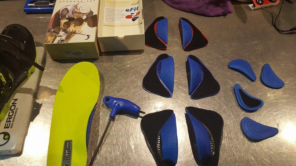 Fitting w fabrykarowerow.com i wkładki do butów