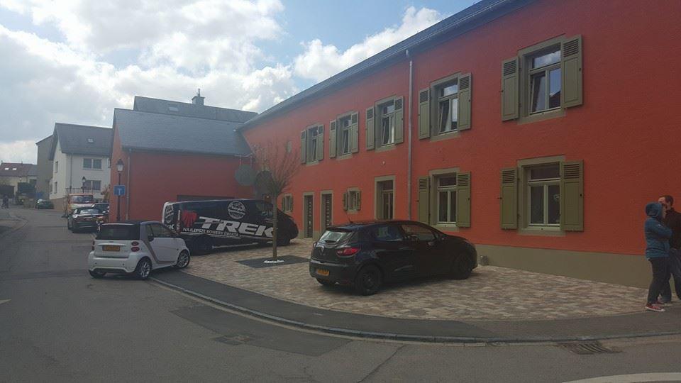 W drodze na wyścig Paryż-Rubaix odwiedziliśmy w Luxemburgu partnerski sklep Trek