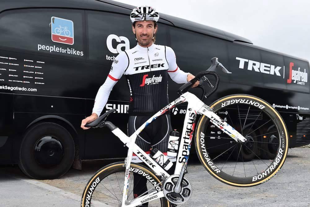 Rower Fabiana Cancellara na Tour de France