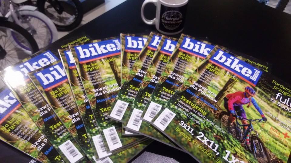 Najnowszy Bikeboard w fabrykarowerów.com