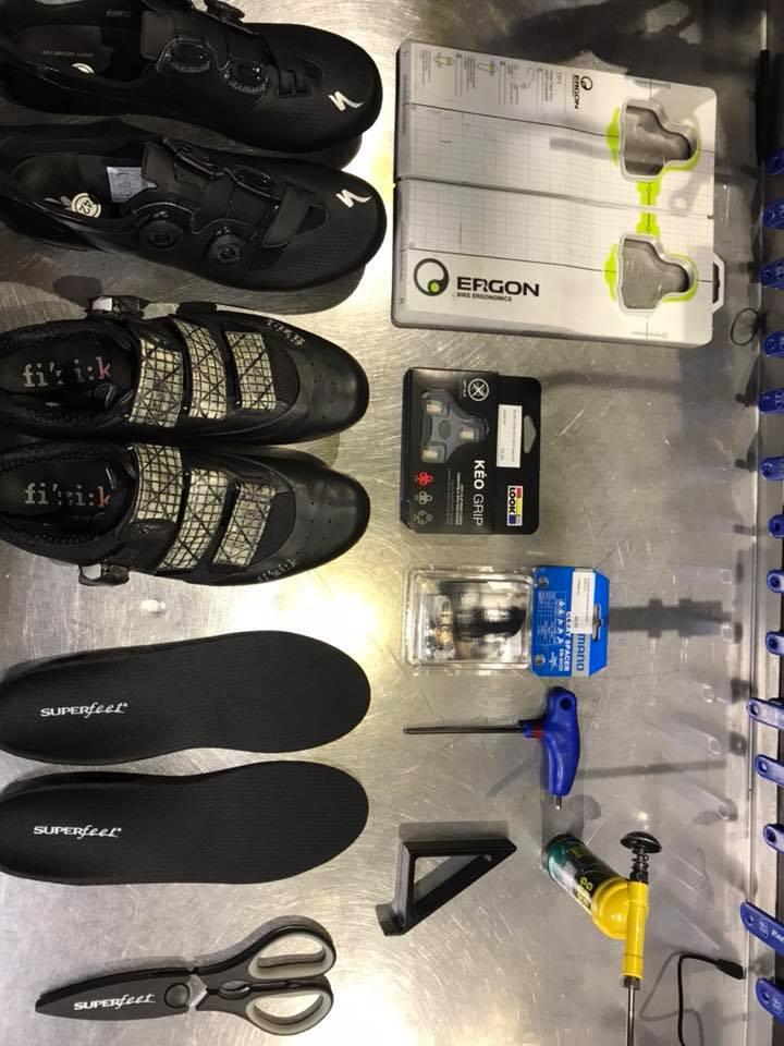 Fitting - przenoszenie progów do innych butów.