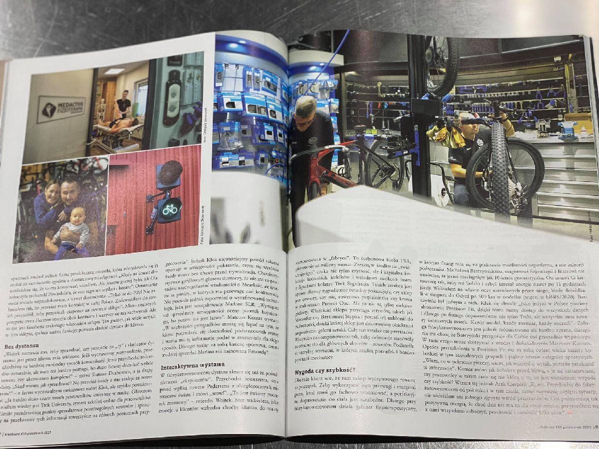 BikeBoard pisze o fabrycerowerów.com