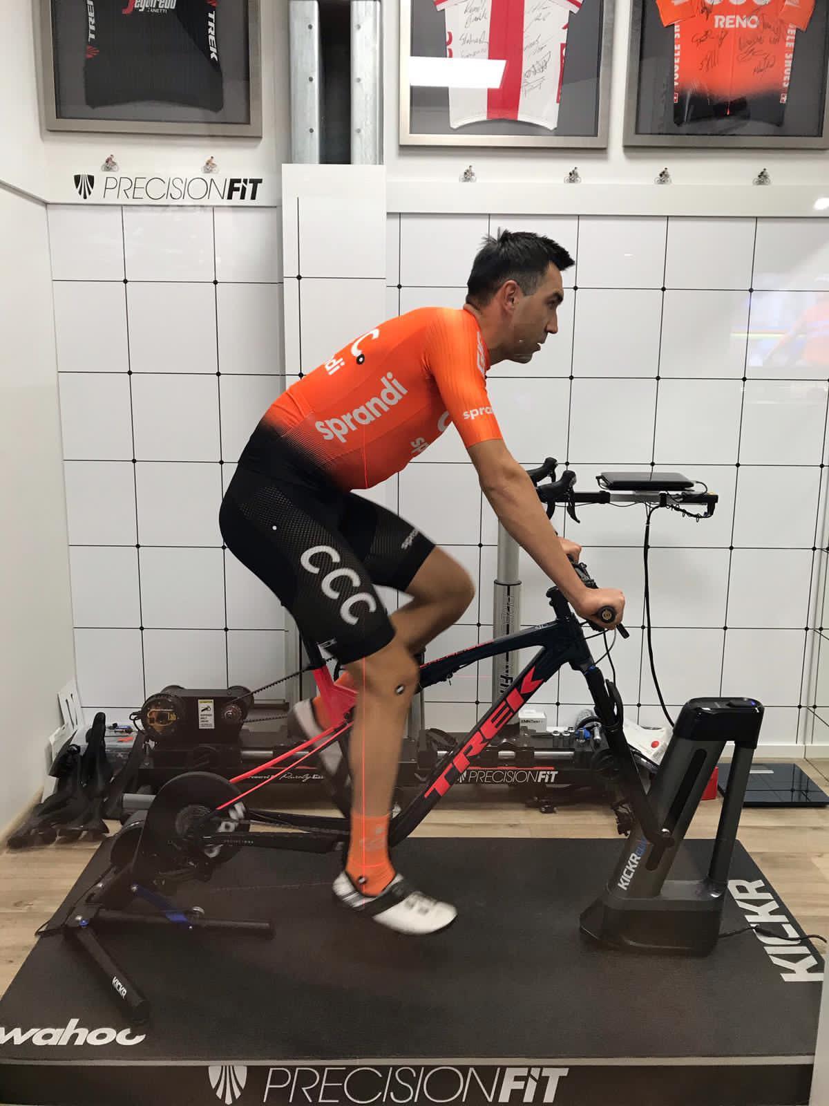 Bike Fitting Kamil Gradek