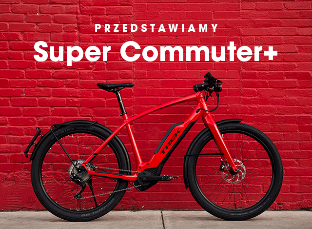 Rower elektryczny Trek Super Commuter+