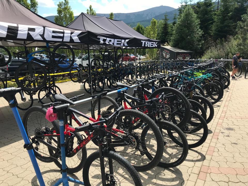 Testy najnowszej kolekcji rowerów TREK 2020