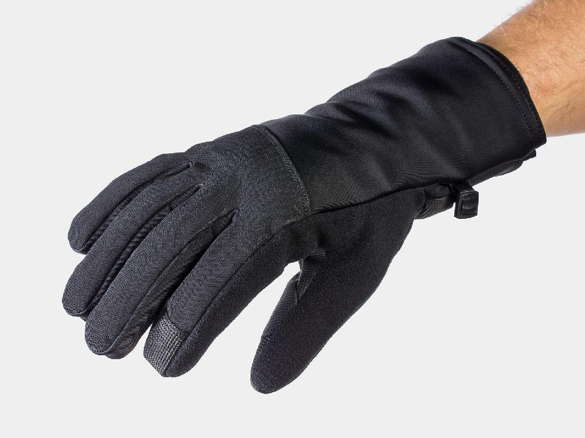 Zimowe rękawiczki na rower