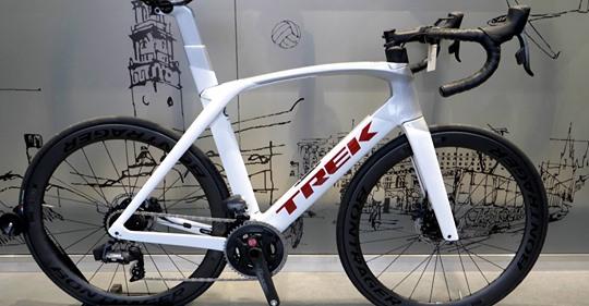 Przedstawiamy film o rowerze Trek Madone SL 7 eTap.