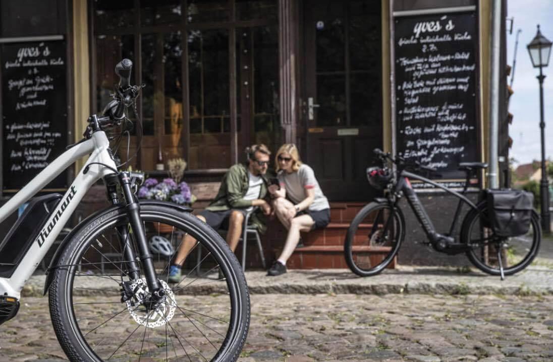 Elektryczne rowery miejskie
