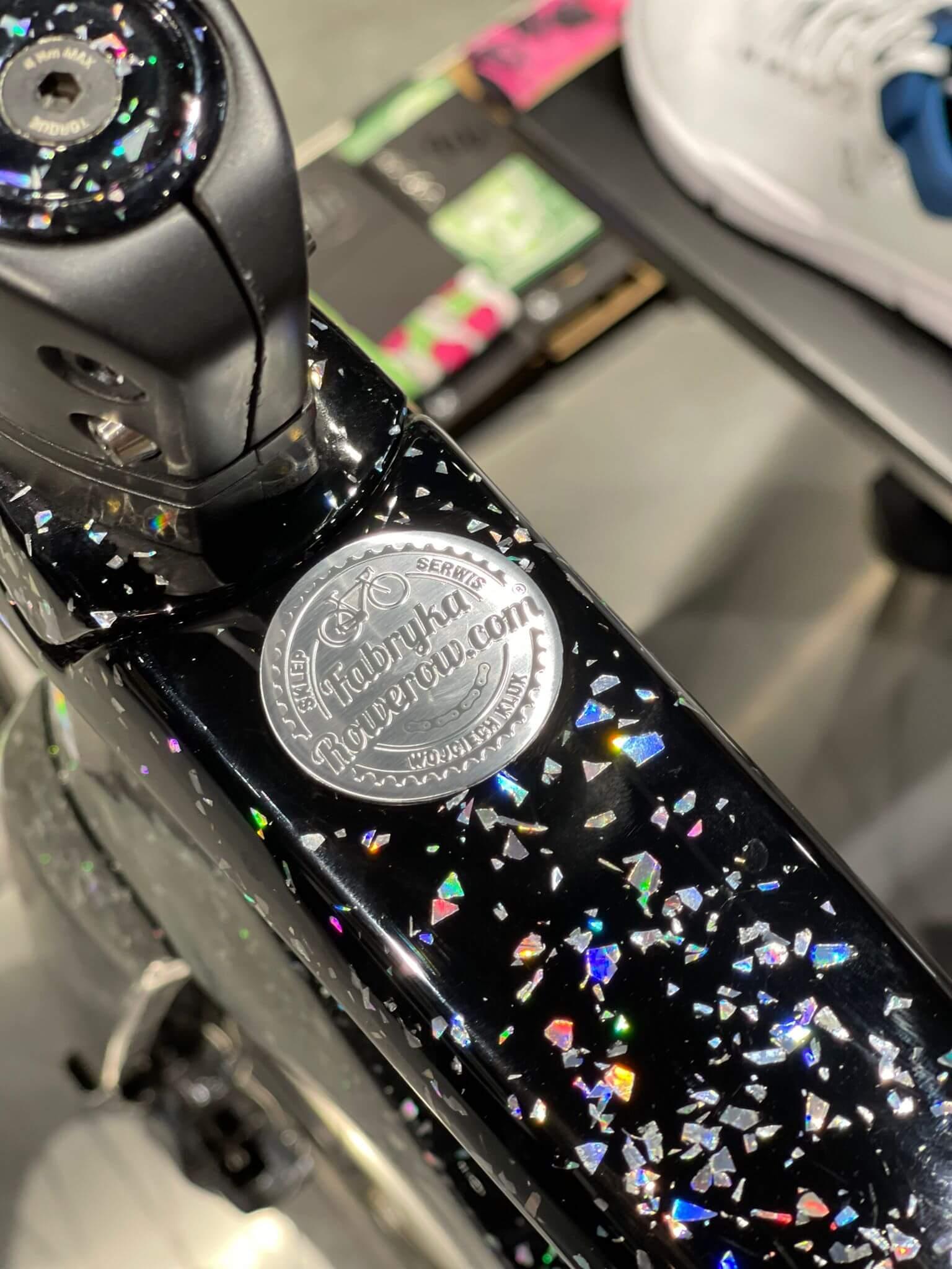 Nowe naklejki na rower Fabrykarowerów.